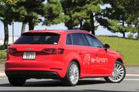 「A3スポーツバックe-tron」は、アウディ初の量産プラグインハイブリッド車として、2013年のジュネーブショーで発表された。