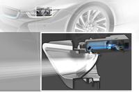 「BMW i8」に次世代ライト技術を搭載の画像