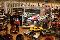 ヒストリックカーショー「テヒノクラシカ エッセン」の会場で。2017年は1250の企業および団体と、220の愛好家クラブが出展した。