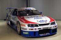 1995年のルマン24時間耐久レースを戦った「NISMO GT-R LM」の22号車。