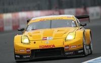 GT300クラスでポール・トゥ・フィニッシュを決め、シリーズチャンピオンを獲得したNo.3 TOMICA Z (星野一樹/柳田真孝組)。