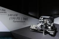 出力違いで3種類の2.1リッター直4ディーゼルエンジンが用意される(写真は最も強力な190ps仕様)。