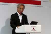 パイクスピーク参戦の意義を、「モータースポーツは技術を磨く研さんの場。レースで得た技術を生かし、より良い製品をお客さまに届けたい」と語る中尾氏。