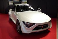 トヨタ社内の有志団体であるTES(トヨタ技術会)は、軽量コンパクトなFRスポーツコンセプト「TES Concept T-Sports」を出展。
