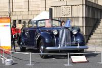 トヨタ博物館所蔵の「1939年パッカード・トゥエルブ」。防弾ガラスをはじめ装甲車並の補強が施された威風堂々たるボディにV12エンジンを積んだ、世界に1台というフランクリン・ルーズベルト大統領の専用車。
