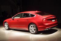 これまで、販売台数では「A5」シリーズの約8割を占めてきた「A5スポーツバック」。4ドアモデルでありながら、流麗なルーフラインが特徴となっている。