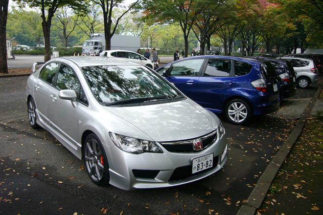 ホンダ新型車試乗会(「フィット」&「タイプR」&「S2000」)【試乗記】