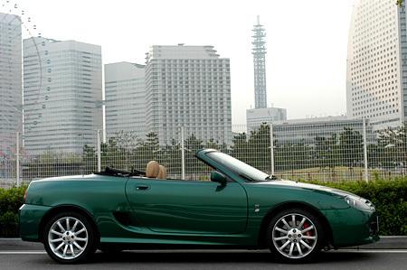 MG TF160(5MT)【ブリーフテスト】