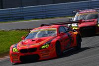 GT300クラスで勝利した、No.55 ARTA BMW M6 GT3(高木真一/小林崇志)。