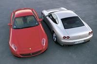 「フェラーリ612スカリエッティ」から、新車保証が1年延長の画像