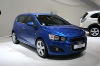 2010年1月のデトロイトショーで公開された「シボレー・アベオRS」の量産型が公開された。