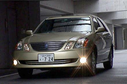 トヨタ・マークIIブリット 2.0iR Four(4AT)【ブリーフテスト】