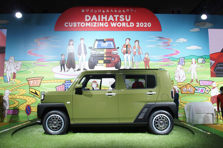 ダイハツは東京オートサロン2020で軽クロスオーバー「TAFT(タフト)コンセプト」を初公開したほか、コンパ...