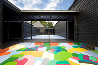 展示作品のひとつ。フェデリコ・エレーロの「Landscape」(2008年)。