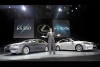 新型「レクサスES」シリーズ、米国でデビュー