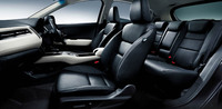 「ハイブリッドZ・Honda SENSING」のインテリア(ブラックレザー)。