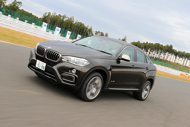 BMW X6 xDrive50i(4WD/8AT)【試乗記】