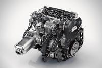 「D5」と呼ばれるボルボのディーゼルエンジン。日本導入は2015年の後半とのこと。
