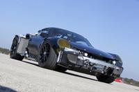 ポルシェのハイブリッドスポーツ「918」開発中の画像
