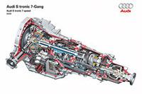 アウディが縦置きエンジン用Sトロニックを開発