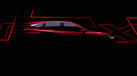 デトロイトショーでの公開が予告された、新型「アキュラRDX」のプロトタイプモデル。