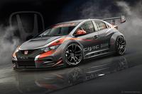 現在開発が進められている2014年シーズンのWTCC参戦車両「ホンダ・シビックWTCC」