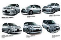 トヨタモデリスタ、「シエンタ」に6種類のエアロキットを発売の画像