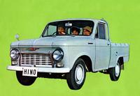 「コンテッサ」と同時にデビューした750kg積み小型ボンネットトラックの「ブリスカ」。後にダブルピックやライトバンも追加されたが、成り立ちがオーソドックスなせいか販売はコンマースより堅調だった。