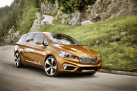 「BMW Concept Active Tourer Outdoor(コンセプト アクティブ ツアラー アウトドア)」