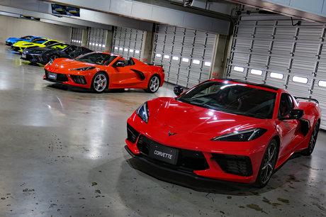 ゼネラルモーターズ・ジャパンが、新型「シボレー・コルベット」の日本でのデリバリー開始に合わせ、日本仕...