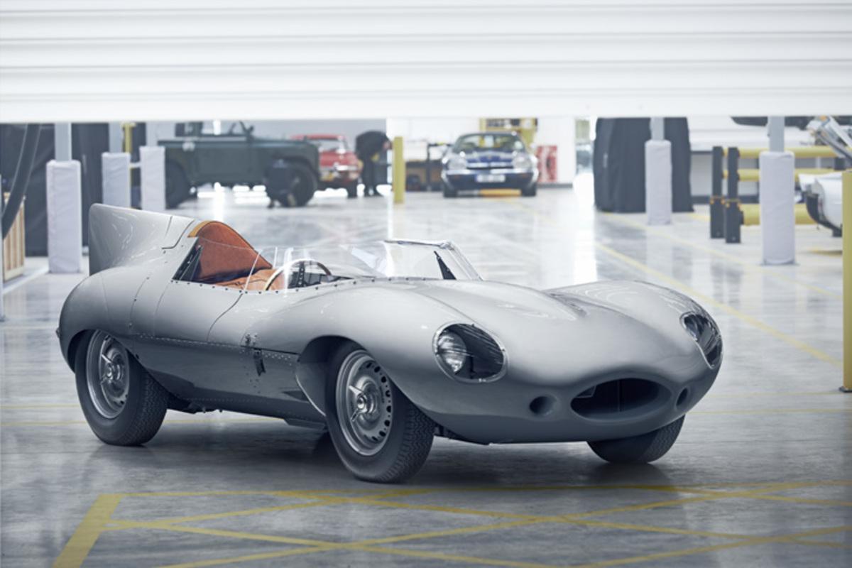 ジャガーが伝説のレーシングカー「Dタイプ」を再生産 【ニュース】 - webCG