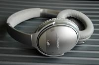 「QuietComfort 35」のヘッドバンドは、アルカンターラ製である。