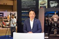 スバル国内営業本部マーケティング推進部担当部長の中村亜人氏。
