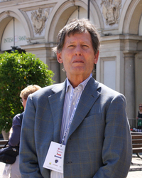 トム・チャーダ。トリノのサンカルロ広場で、2010年に撮影。