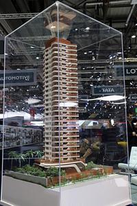 ピニンファリーナが外装デザインを手がけたブラジル・サンパウロの高層レジデンス。