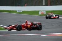 フェラーリは、かつての常勝チームらしからぬミスで得点を取りこぼしたが、コンストラクターズタイトルは見事に防衛した。写真は、シーズンのベストレース、スパ・フランコルシャンでのベルギーGPから。(写真=Ferrari)