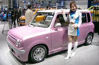 【東京オートサロン2005】JWRCを戦うニューマシン「スズキ・スイフトスーパー1600」