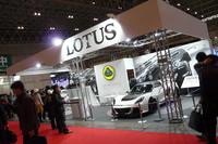 「ロータス・エヴォーラ」がSUPER GTに参戦【東京オートサロン2015】の画像