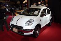 トヨタ純正用品から出展された「Passo de Tea time」は、高級2BOXカーを提案している。