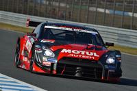 最終戦を勝利で飾った松田次生/ロニー・クインタレッリ組のNo.23 MOTUL AUTECH GT-R(写真)は、ポイントランキングでも逆転。2014年シーズンの王座も獲得した。