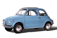 今回の特別限定車のイメージ元となっている、2代目「フィアット500」。1957年に誕生し、20年にわたって生産された。