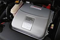 プリウスに搭載される1.5リッター「THSII」は、環境へのやさしさが評価され、グリーン・エンジン・オブ・ザ・イヤーに選出された。