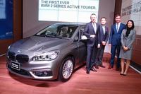 「2シリーズ アクティブツアラー」の日本導入は2014年10月。BMWブランド初のFF車として注目を集めている。