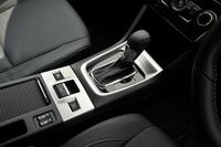 トランスミッションは全車CVT。エンジンに合わせて、高トルク型と低トルク型(といっても、25.5kgmものトルクを許容するわけだが)の2種類を使い分けている。