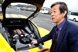 V8フェラーリの究極形「458スペチアーレ」を水野和敏氏がドライブする。