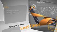 最優秀賞を受賞したSong Wei Teo氏の「Leaf Chair」。