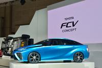 トヨタFCVコンセプト:市販版が今から楽しみの画像
