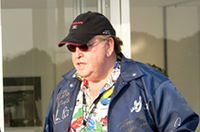同じくゲストとして招かれた全米Zカークラブ会長のマッド・マイク・テイラー氏。