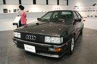 メインの建物の中では往年の名車「アウディ・クワトロ」が展示されている。