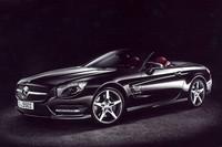 新型「SLクラス」の発売を記念し、設定された「SL550ブルーエフィシェンシー エディション1」。70台の限定販売となる。
